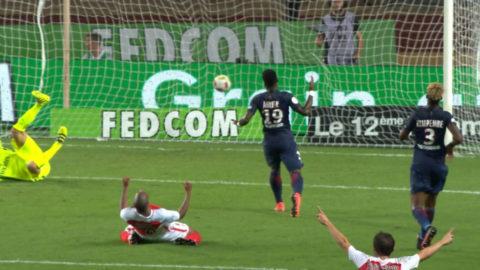 PSG:s första ligaförlust sedan i mars - förlorade franska toppmötet
