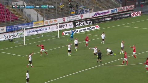Rodevåg gav Falkenberg ledning mot Örebro 2-1