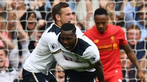 Rose räddade en poäng för Spurs - Liverpool tappade i slutet