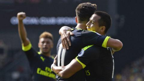 Sanchez bakom säsongens första seger för Arsenal