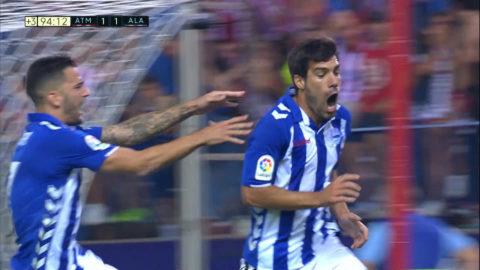 Stopptidsdramat - Atletico rånade på segern