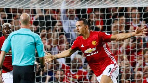 Succén: Ibrahimovic sänkte Southampton med två mål