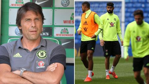 Trots ryktena - Conte tror på Costa