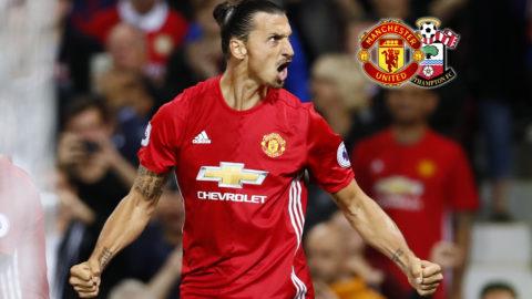 TV: Samtliga Zlatan-höjdpunkter från matchen mot Southampton