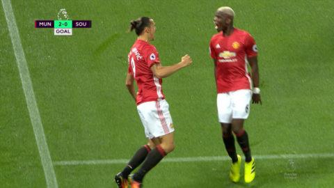 TV: Zlatan slår till igen - utökar ledningen