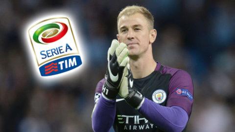 Uppgifter: Joe Hart på väg till Serie A