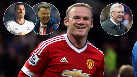 """Zlatan om Rooney: """"Han är den perfekta anfallspartnern"""""""