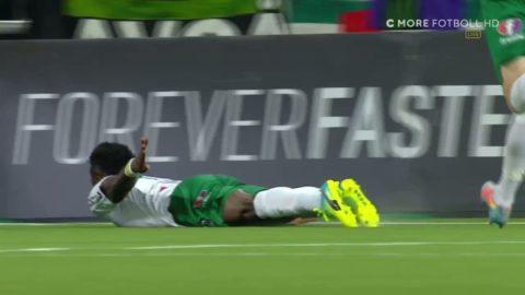 """Aidoo efter första målet för Hammarby: """"Jag visste att jag en dag skulle göra mål"""""""