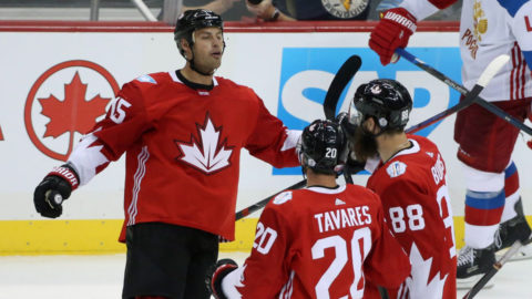 Anaheim-stjärnan hjälte mot Ryssland