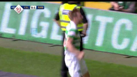 Armstrong adda femte målet för Celtic i derbyt