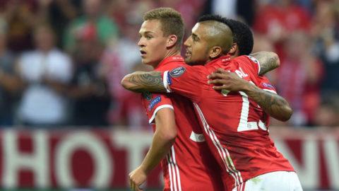 Bayern krossade Champions League-debutanten