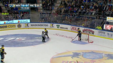 Bisarrt självmål när Frölunda vann