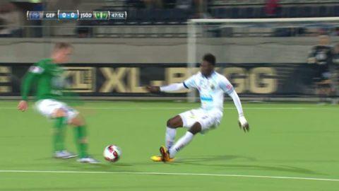 """Bonsu med ful tackling på J-Södra-spelaren: """"Inte långt från rött"""""""