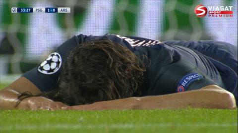 Cavani bränner jätteläge i jakten på PSG:s 2-0-mål