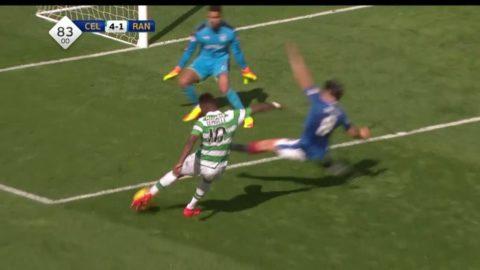 Dembele göra ett hattrick och gav Celtic ledning 4-1