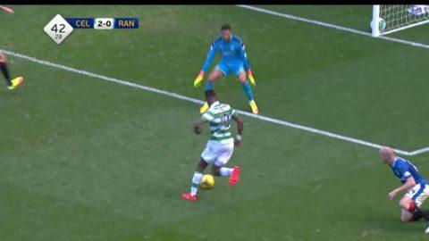 Dembeles gör andra mål mot Rangers i derbyt