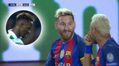 Efter straffmissen: Messi ökar på ledningen