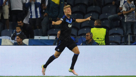FCK snodde poäng mot Porto med en man mindre