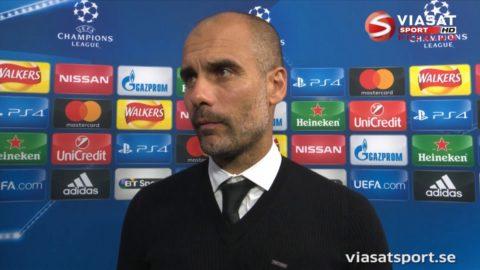 """Guardiola nöjd: """"En jättebra match"""""""