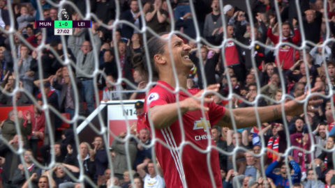 Höjdpunkt: Zlatan nära drömmål
