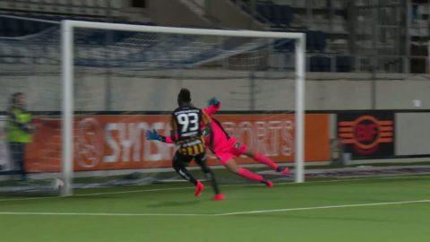 Höjdpunkter: Kamaras dubbla mål gav oavgjort