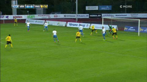 Höjdpunkter: Mål i första minuten när Frej kryssade mot Värnamo