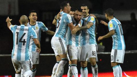 Ingen Messi - då tappade Argentina mot jumbon