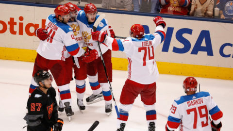 Islossning för Ryssland - Nordamerika besegrades