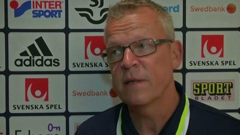 """Janne Andersson: """"Jag är förhoppningsfull inför framtiden"""""""