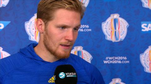 """Landeskog: """"Vill möta Kanada i finalen"""""""