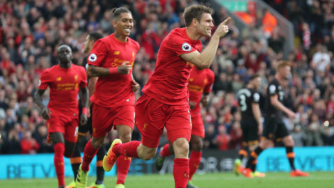 Liverpool krossade Hull - hakar på City i toppen