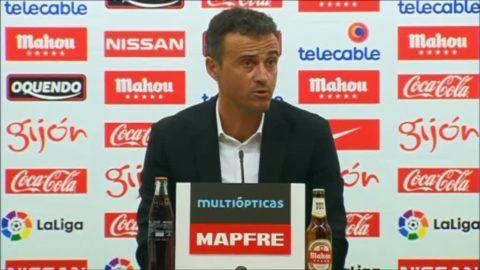 "Luis Enrique efter 5-0-segern: ""Ett missvisande resultat"""