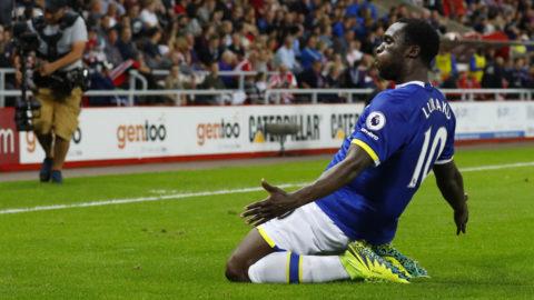 Lukaku bröt måltorkan när Everton krossade Sunderland