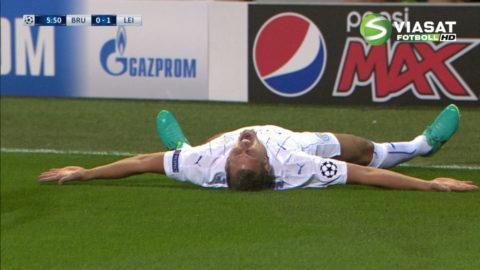 Mål: Albrighton spräcker nollan för Leicester (0-1)