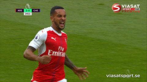 MÅL: Arsenal bjuder på ögongodis - tiki-taka-mål fram till 2-0