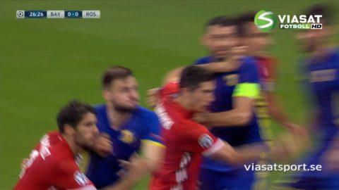 Mål: Bayern tar ledningen - Lewandowski nätar på straff (1-0)
