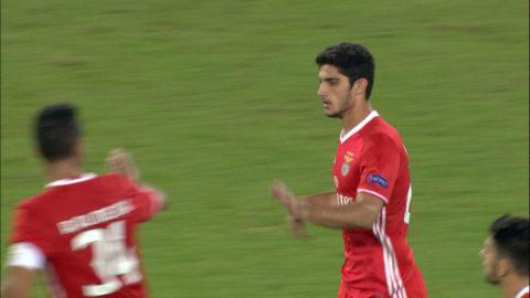 Mål: Benfica får in ett tröstmål (4-1)