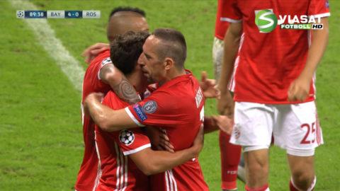 Mål: Bernat sätter spiken i kistan mot Rostov (5-0)
