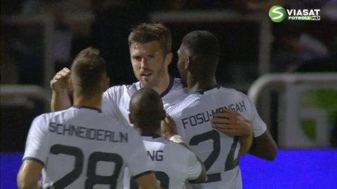 Mål: Carrick spräcker nollan för United (0-1)