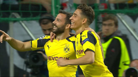 Mål: Castro utökar Dortmunds målskörd (0-5)