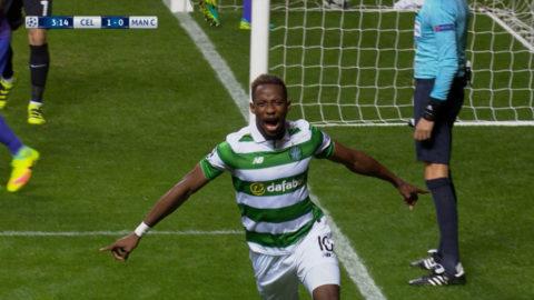 Mål: Celtic tar ledningen direkt - Dembele nätar (1-0)