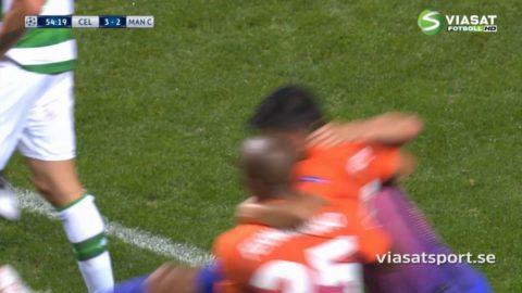 Mål: City kvitterar på nytt genom Nolito (3-3)