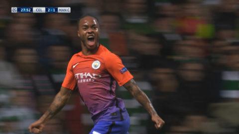 Mål: City kvitterar - Sterling nätar (2-2)