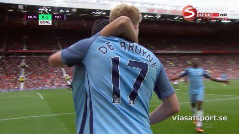 Mål: De Bruyne ger City ledningen (0-1)