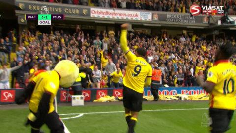 Mål: Deeney sätter spiken i kistan mot United (3-1)