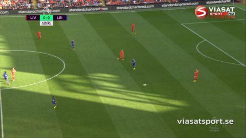 Mål: Firmino spräcker nollan för Liverpool (1-0)
