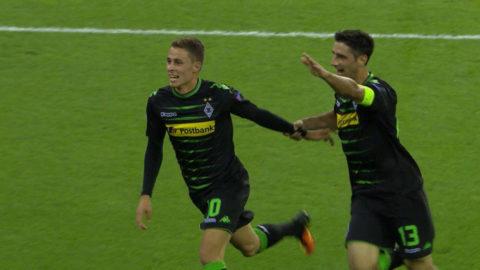 Mål: Hazard öppnar målskyttet mot Barça (1-0)
