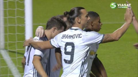 Mål: Herrera ger United ledningen på nytt (1-2)