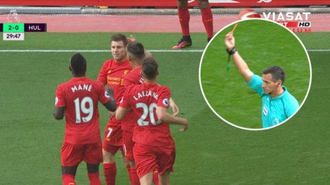 MÅL: Hull såg rött - då smällde Milner in 2-0 för Liverpool