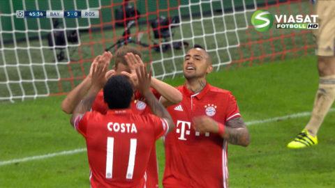 Mål: Kimmich trycker in trean för Bayern (3-0)
